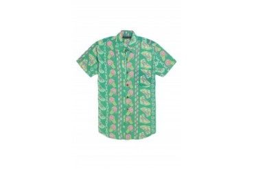 Mens Vanguard Shirts - Vanguard Bel Air Short Sleeve Woven Shirt