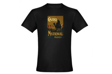 National Hotel Cairo Egypt Organic Men's Fitted T- Africa Organic Men's Fitted T-Shirt dark by CafePress