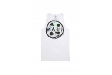 Mens Maui & Sons Tank Tops - Maui & Sons Cookie Party Tank Top