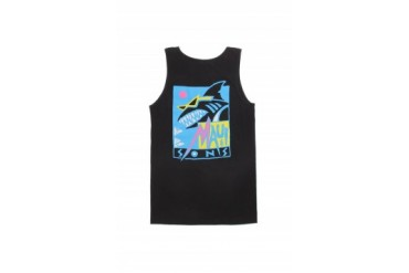 Mens Maui & Sons Tank Tops - Maui & Sons Deco Shark Tank Top