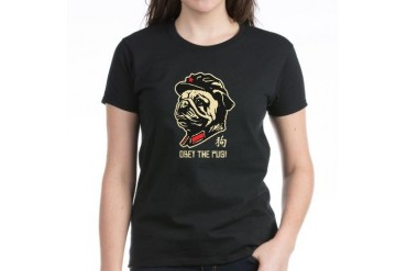 Chairman PUG - Women's Dark T-Shirt