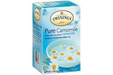 Twinings Of London Pure Camomile Herbal Tea - 20ct Box