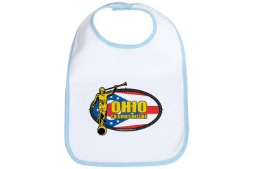 Ohio Columbus LDS Mission Clothing T-Shirts and Gi Gifts Bib by CafePress