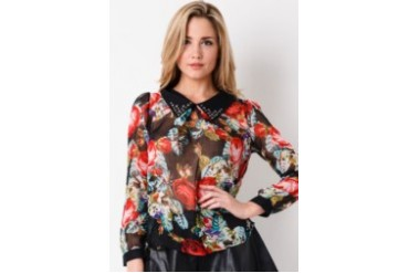 Now & Forever Flower Print Shirt