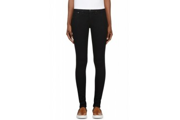 Rag And Bone Midnight Navy Mock pocket The Leggings Jeans