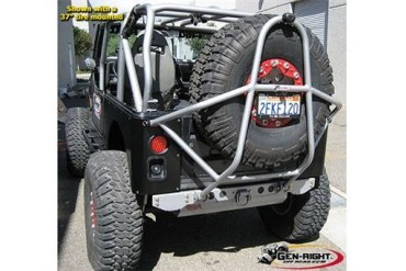 GenRight Swing Down Rear Tire Carrier RTC-3400 Bumper Panel