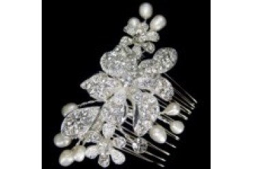 AA Bridal Hair Comb - Style S2291M