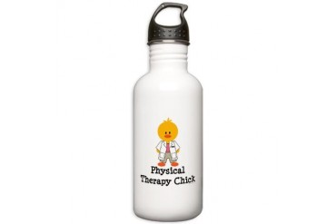 Physical Therapy Chick Stainless Water Bottle 1.0L