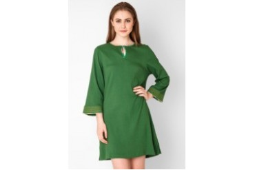 Triset Ladies Long Sleeve Mini Dress