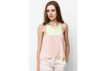 Wyle Placa Sleeveless Blouse