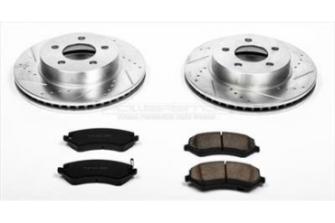Power Stop Front Brake Kit K2160 Replacement Brake Pad and Rotor Kit