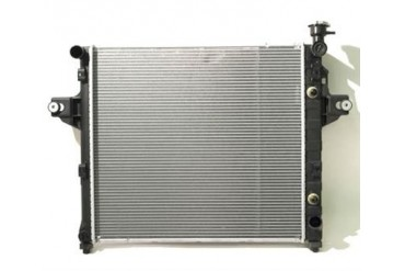 Vista-Pro Replacement 2 Core Radiator for 4 or 6 Cylinder Engine with Automatic Transmission 431512 Radiator