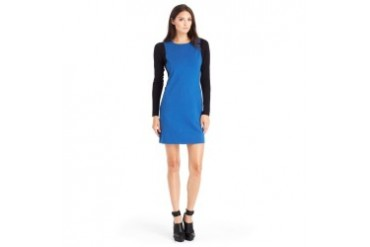 Capri Long-Sleeve Ponte Dress