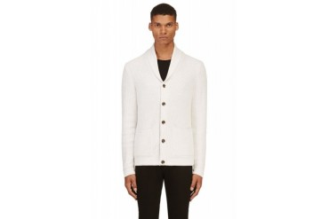 Rag And Bone Off white Avery Shawl Cardigan