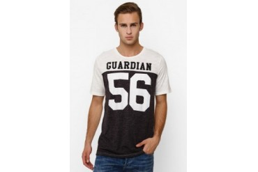 Men's Top Knitting Solid Guardian Tee