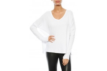 Thermal Robin Top in White - designed by Feel The Piece