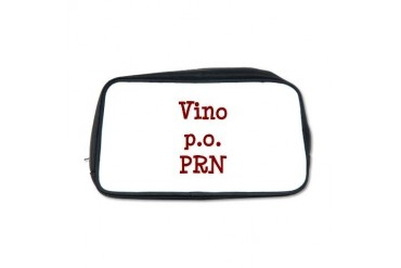 Funny Toiletry Bag by CafePress
