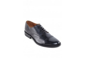 H.E. by Mango Leather Oxford Shoes