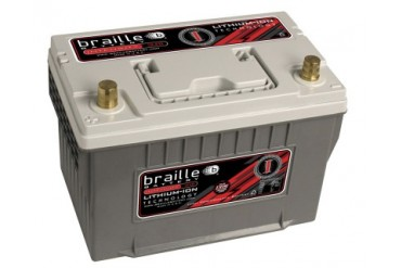 Braille Lithium Ion Intensity Deep Cycle Battery 1315 Amp 11 x 7 x 8 inch Left Positive BCI 34