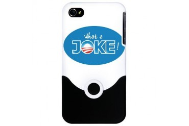Nobama 2012 Obama iPhone 4 Slider Case by CafePress
