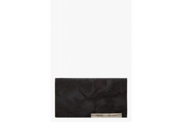Ma Julius Black Leather Shosa No, No, Yes Edition Card Holder