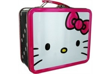 Hello Kitty Giant Face Metal Lunch Box