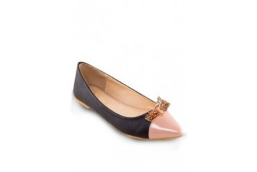 Butterfly Embellishment Pointy Flats