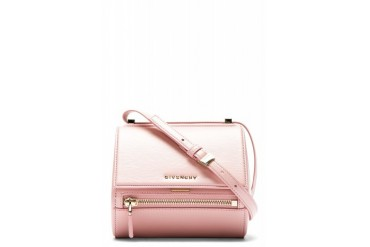 Givenchy Pink Leather Palma Pandora Box Mini Bag