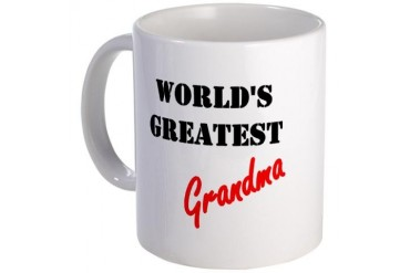 World's Greatest Grandma Mother's day Mug by CafePress