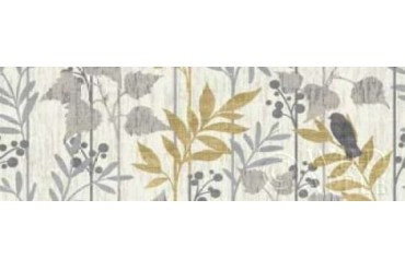 Garden Leaves Panel II Poster Print by Wild Apple Portfolio (12 x 36)