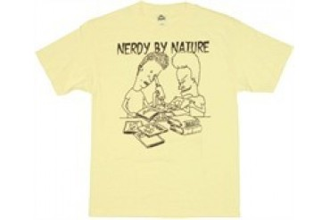 Beavis and Butthead Nerdy By Nature T-Shirt