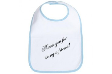 Thank You Pop culture Bib by CafePress