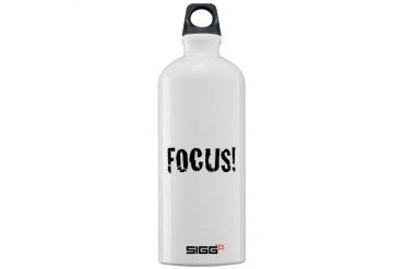 Focus Romance Sigg Water Bottle 1.0L by CafePress
