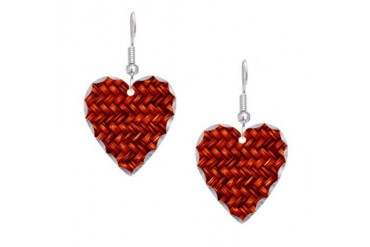 Cool Earring Heart Charm by CafePress