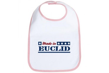 Made in Euclid Ohio Bib by CafePress