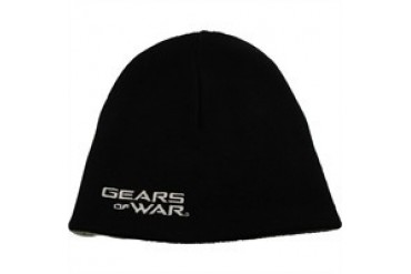 Gears of War Name Omen Reversible Embroidered Printed Beanie