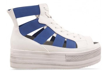 Fessura Double Star in White Blue size 7.0
