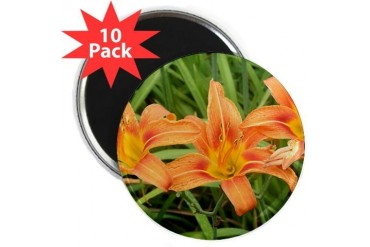 Tigerlilies Love 2.25 Magnet 10 pack by CafePress