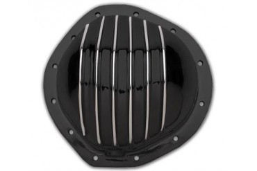 Trans-Dapt GM 8.875in. 12 Bolt Truck Black Aluminum Cover 9934 Differential Covers