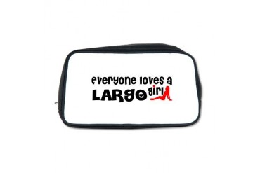 Everyone loves a Largo Girl Florida Toiletry Bag by CafePress