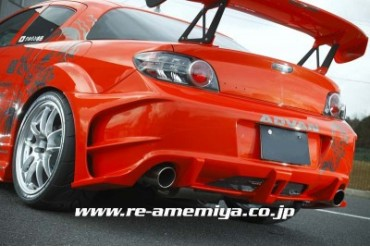 RE Amemiya Before D1 Rear Bumper Mazda RX-8 03-11