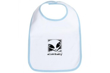 Alien Baby Baby Bib by CafePress