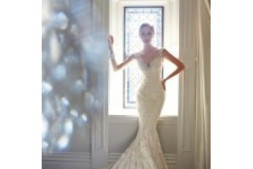 "Sophia Tolli ""In Stock"" Wedding Dress - Style Leigh Y21432"