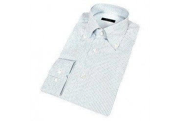 Fine Blue Lines Button Down Dress Shirt