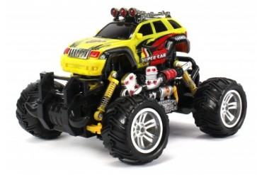 Graffiti Jeep Grand Cherokee RC Off-Road Monster Truck 1 18 Scale