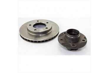 Omix-Ada Hub and Rotor  16704.02 Disc Brake Rotor and Hub Assembly