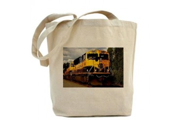 Alaska Railroad engine Alaska Tote Bag by CafePress