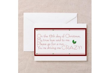 12th day of christmas greeting cards pk of 10 sports greeting cards 12th day of christmas greeting cards pk of 10 sports greeting cards pk of 10 by cafepress price comparison m4hsunfo