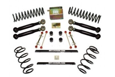 Skyjacker 2.5 Inch Value Short Arm Lift Kit Jeep Wrangler TJ 4WD 97-02