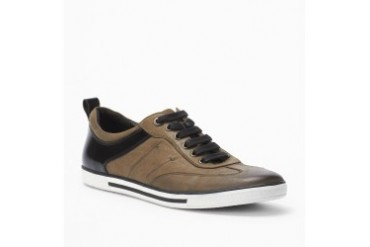 Down The Hatch Leather Sneaker